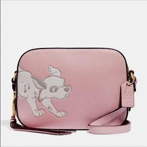 Disney Coach Dalmatians Pink/Canvas Camera Bag